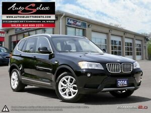 2014 BMW X3 xDrive28i AWD ONLY 96K! **TECHNOLOGY PKG** CLEAN...