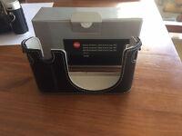 Selling Brand New Original Leica X Vario Black Leather Half Case Protector