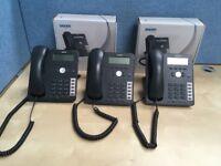 VoIP phone - Snom 715 3 handsets