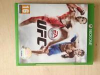 Xbox one EA sport UFC