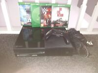 Xbox one console and games bundle