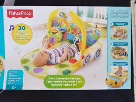 Fisher price 3 in 1 convertable car gym