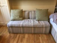 Sofa bed and single bed for sale - Same fabric. Premium brand. Excellent conditions