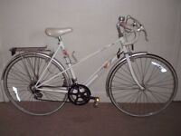"Eroica Classic/Vintage/Retro Ladies/Womens Raleigh Candice 21.5"" Racing/Road Bike"