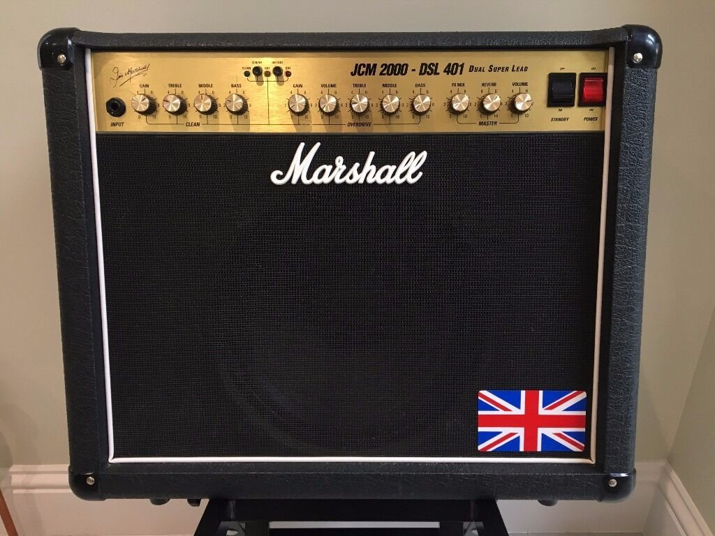 marshall jcm2000 dsl401 dual super lead 40 watt 1x12 tube guitar combo amp in cambridge. Black Bedroom Furniture Sets. Home Design Ideas