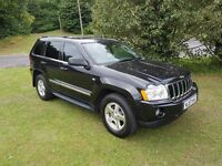 2008(57) JEEP GRAND CHEROKEE 3.0 V6 CRD LIMITED AUTO MOT 17 2 KEYS LEATHER SOME HISTORY PX TO CLEAR