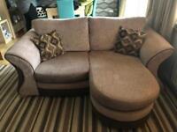 Two, two seater sofas