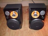 Phillips Max Power speakers
