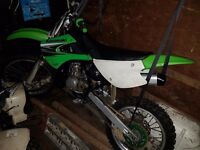 Kawasaki kx85 2007 must look lovely bike