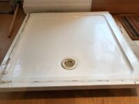 FREE - White stone shower tray - 90cm x 90cm