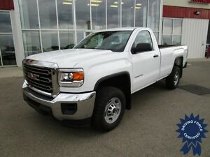 2015 GMC Sierra 2500HD WT Regular Cab 4X4 Long Box w/19,561 KMs