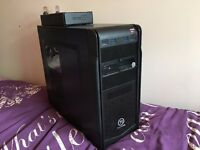 Serious Gaming PC - Full Watercooled, 2 x AMD R9-290x, Quad Core i5, 1000w PSU