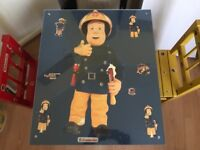 Fireman Sam childrens table and chairs
