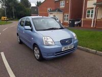 2006 KIA PICANTO GS 1.1 LX SERVICE HISTORY 2 LADY OWNER