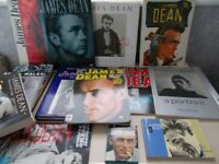 James Dean books and memorabilia
