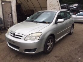 Toyota Corolla Hatchback 2004-2007 MK 9 Facelift 1.4 D-4D silver wing indicator breaking