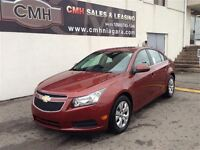 2013 Chevrolet Cruze LT ROOF B/TOOTH LOADED  *CERTIFIED*