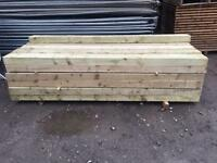 🌎£15 New Tanalised Wooden Railway Sleepers