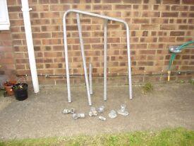 Disabled Hand Rail Metal