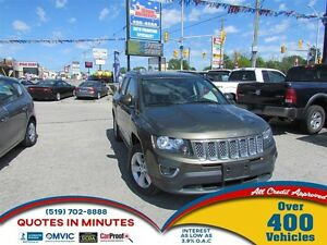 2015 Jeep Compass HIGH ALTITUDE | 4X4 | LEATHER | SUNROOF
