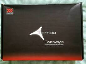 "Morel Tempo 6"" Component Speakers Audiophile Sound Quality BRAND NEW!!"