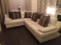 Leather corner sofa from Sofology