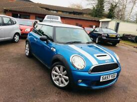 Mini Cooper S..1.6 turbo Petrol..full history..just spent 1000.. nationwide delivery..3495