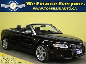 2009 Audi S4 4.2 Conv. with NAVIGATION, 6 SPEED