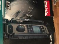 Brand new Makita radio DMR102