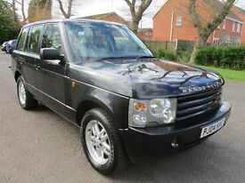 2004 04 LAND ROVER RANGE ROVER 3.0 TD6 FULL CREAM HEATED ELECTRIC LEATHER TOW BAR CRUISE PX SWAPS