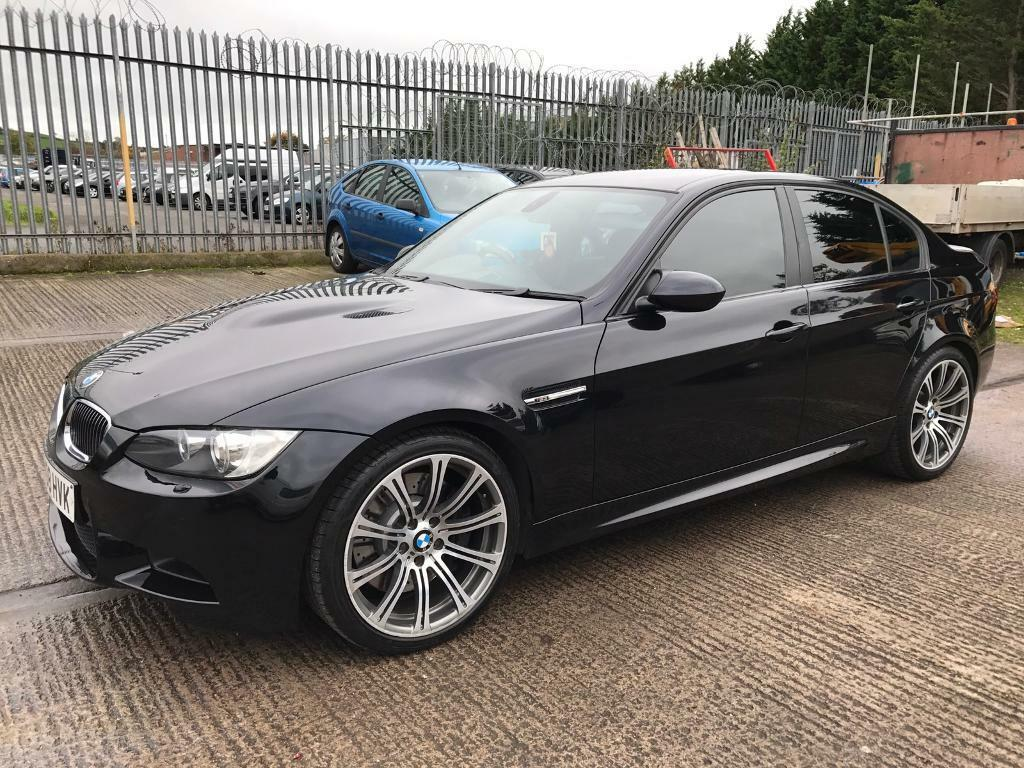 Bmw M3 E92 Manual 4dr Saloon In Carbon Black 2008 08 Plate In