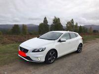 Volvo v40 white