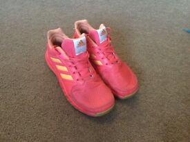 Girls Junior Adidas trainer shoes size 3