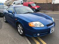 2004 04 Hyundai Coupe SE Blue Petrol Coupe Car