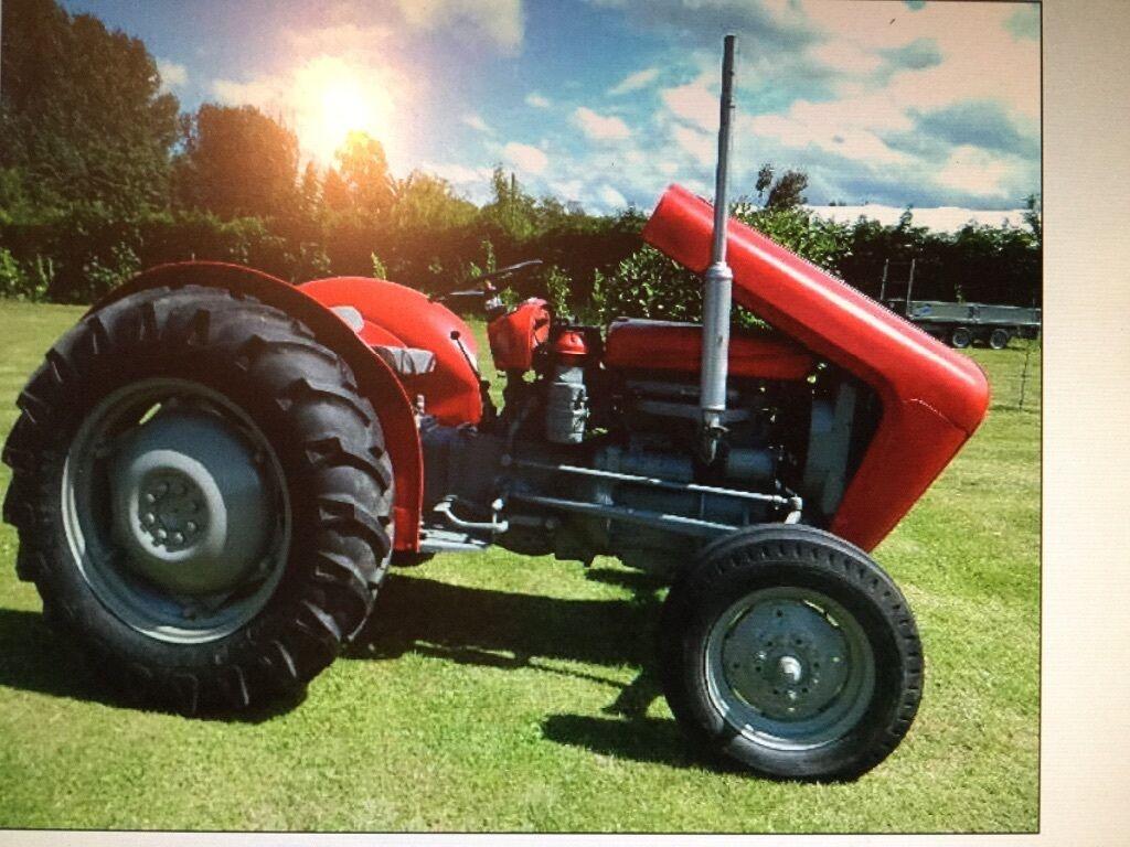 1958 Ferguson Tractor Attachments : Rare classic massey ferguson tractor cylinder