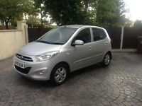 Hyundai i10 2012 61 1.2 Active 5dr Auto Silver - only 26k miles - 2 Owners - Automatic hatchback***