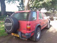 Vauxhall Frontera 4x4