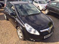 Vauxhall Corsa 1.0 i 12v Active Hatchback 3dr, 2 KEYS. 1 YEAR MOT. LADY OWNER. IDEAL FIRST CAR.