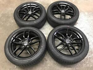 17 Volkswagen Replica and 225/45R17 Falken Summer Tires (Golf, Jetta)