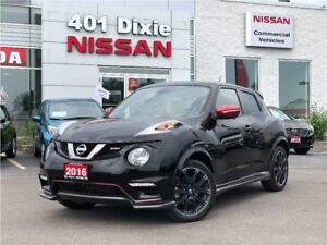 2016 Nissan Juke NISMO AWD | NAVI | PADDLE SHIFTERS | HEATED SEA