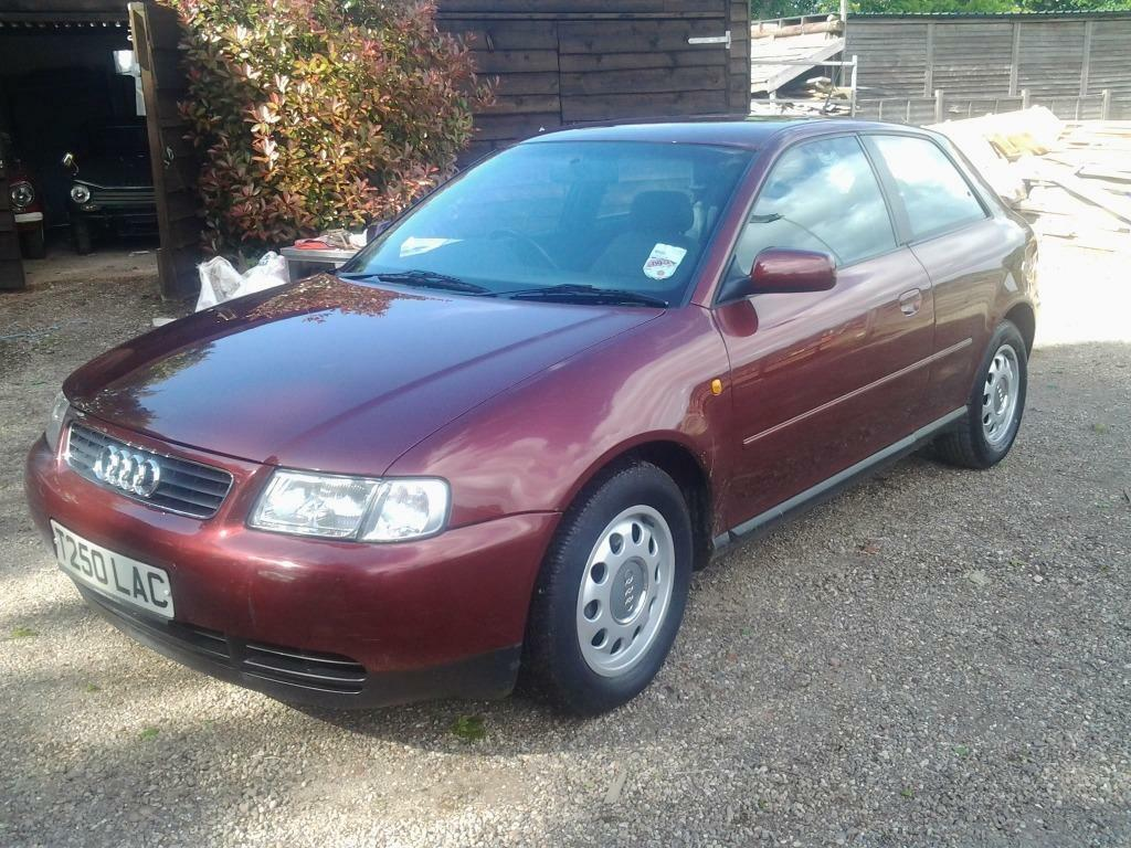 Audi a3 1.6 se 3 door hatchback 1999 t reg 1 owner low mileage fsh