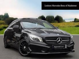 Mercedes-Benz CLA CLA 220 D AMG LINE (black) 2016-04-29