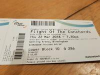2x Flight of the Conchord tickets - Birmingham, Genting arena