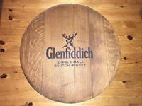 Glenfiddich whisky barrel lid