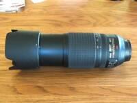 Nikon 70 - 300mm VR Lens