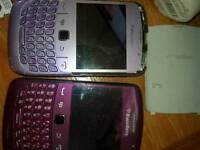 2 blackberry curve's