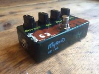 ZVex Woolly Mammoth Bass Fuzz Hand-Painted Guitar Effects Pedal