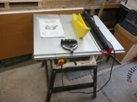 Axminster BTS10PP Bench Table Saw with Stand