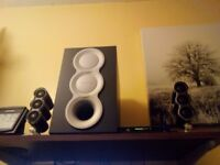 Aux sound system REMOTE CONTROLLED. By Creative.