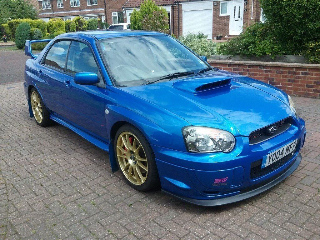 2004 subaru impreza wrx sti in wallsend tyne and wear. Black Bedroom Furniture Sets. Home Design Ideas
